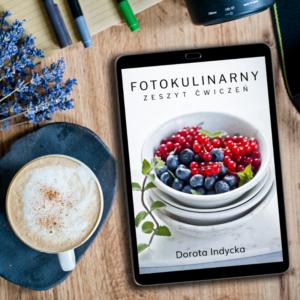 Fotokulinarny zeszyt ćwiczeń – wariant podstawowy